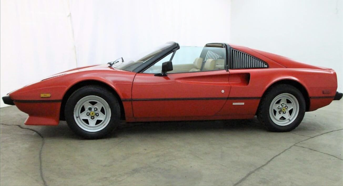 1982 Ferrari 308 Gtsi Kus Classic Cars